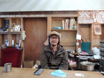 自由な生き方を求め、川内村で新たな挑戦の場を提供する中村雄紀さん(川内村)